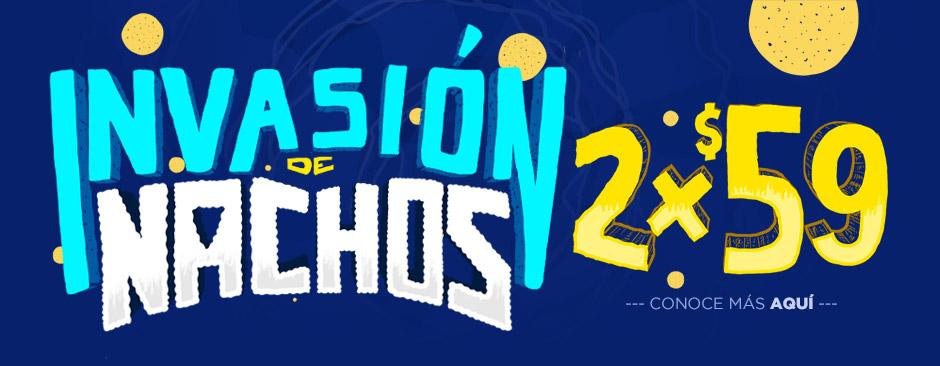 Cinépolis: Invasión de Nachos 2x$59