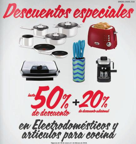 Sears: hasta 50% + 20% extra en electrodomésticos y artículos para cocinar