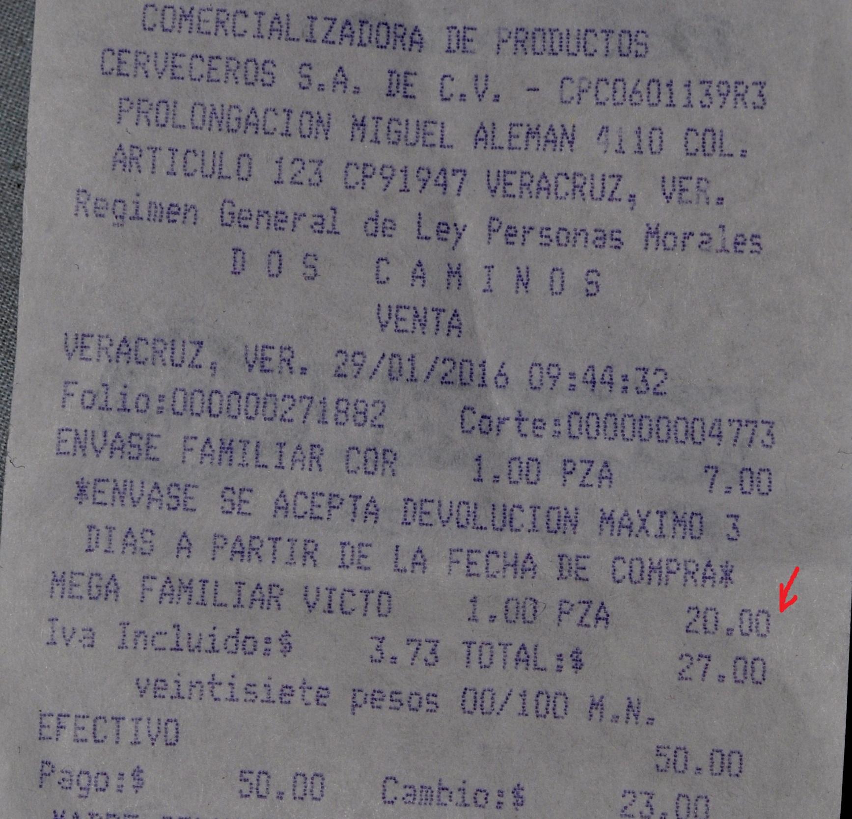 Modelorama: Cerveza Victoria ó Corona Mega $20, Six Modelo lata 355ml $60