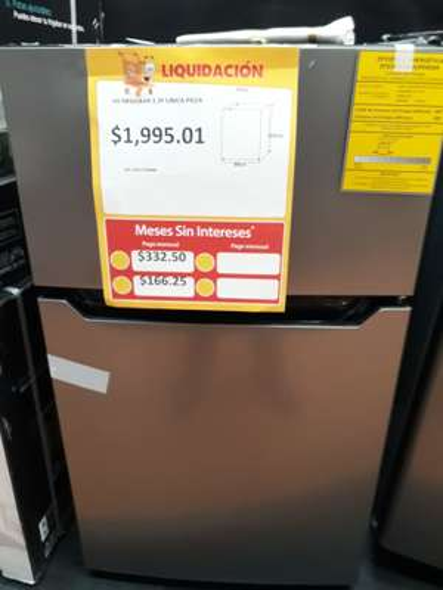 Walmart - Frigobar Hisense 3.3 ft3 Silver