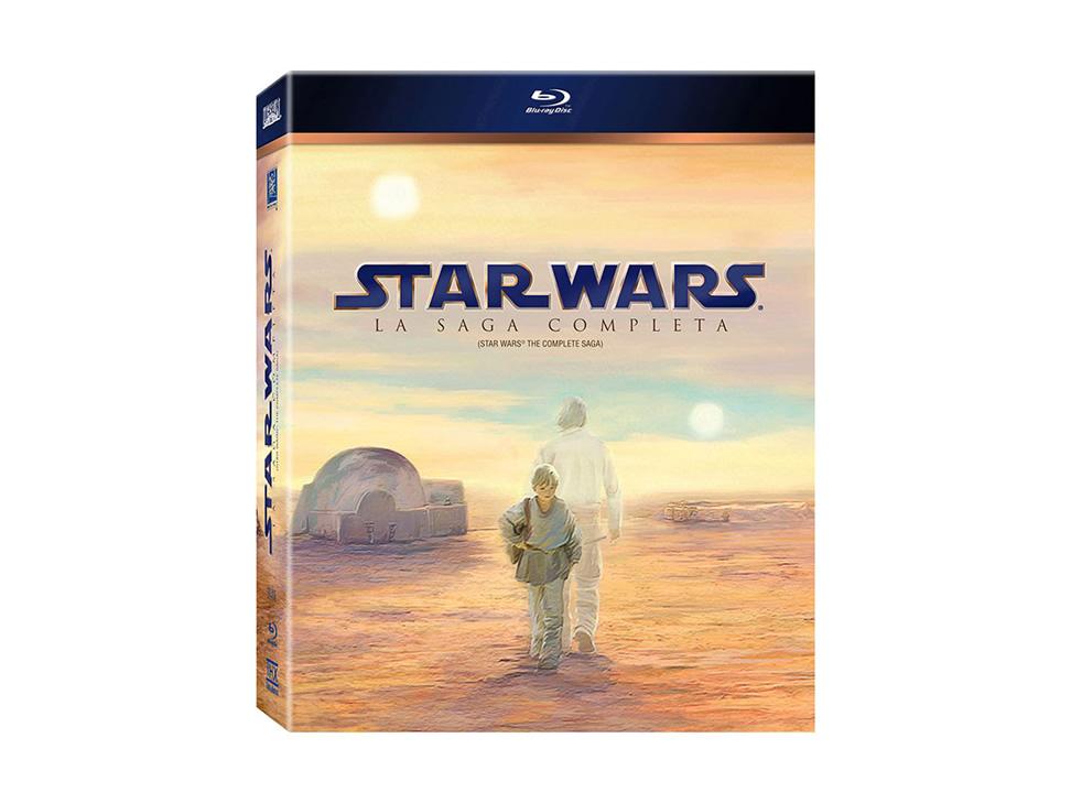 Liverpool: Saga completa de Star Wars en Blu-Ray a $700
