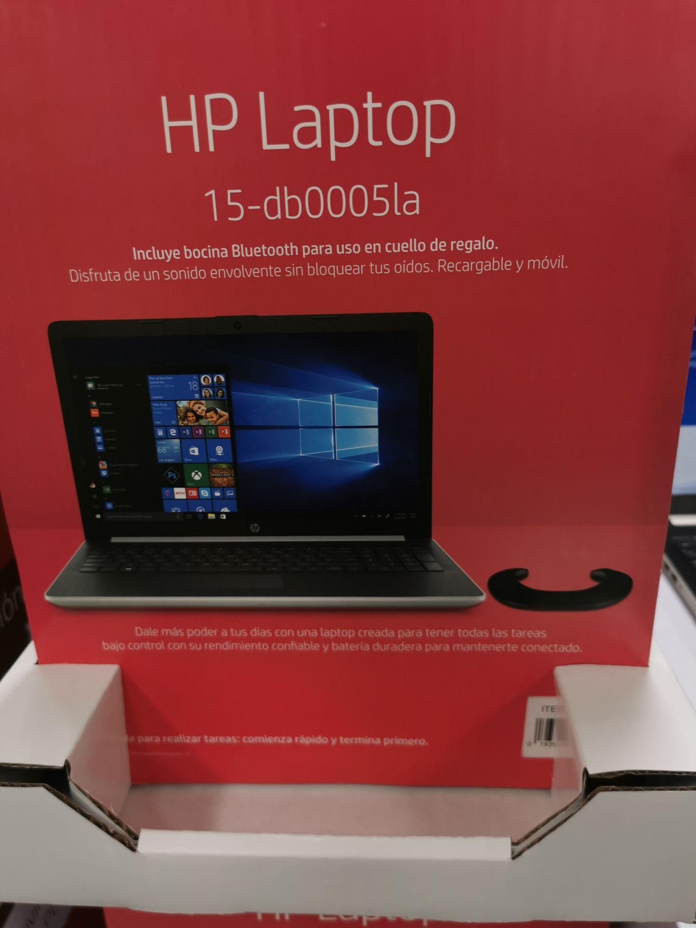 Costco: Laptop Hp, 12GB RAM 1TB+Bocina de cuello de regalo
