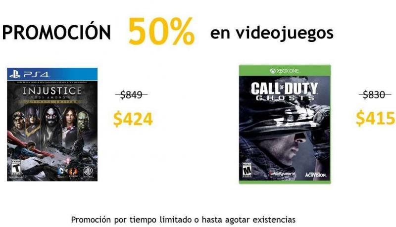 Teragu.com: Call of Duty Ghosts Xbox One $415, Battlefield 4 PS4 $400, Xbox 360 $250 y más