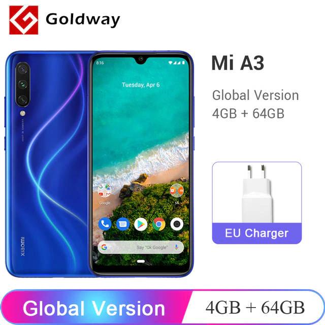 Aliexpress: Xiaomi Mi A3 4GB/64GB versión global Envío DHL Incluído!