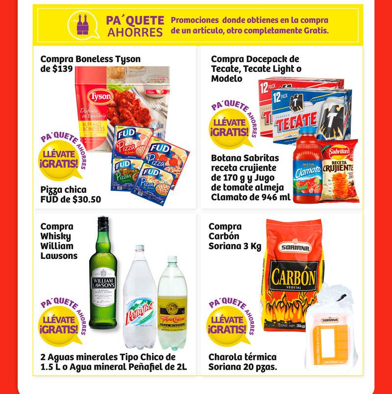 Promociones Pa'Quete ahorres Soriana