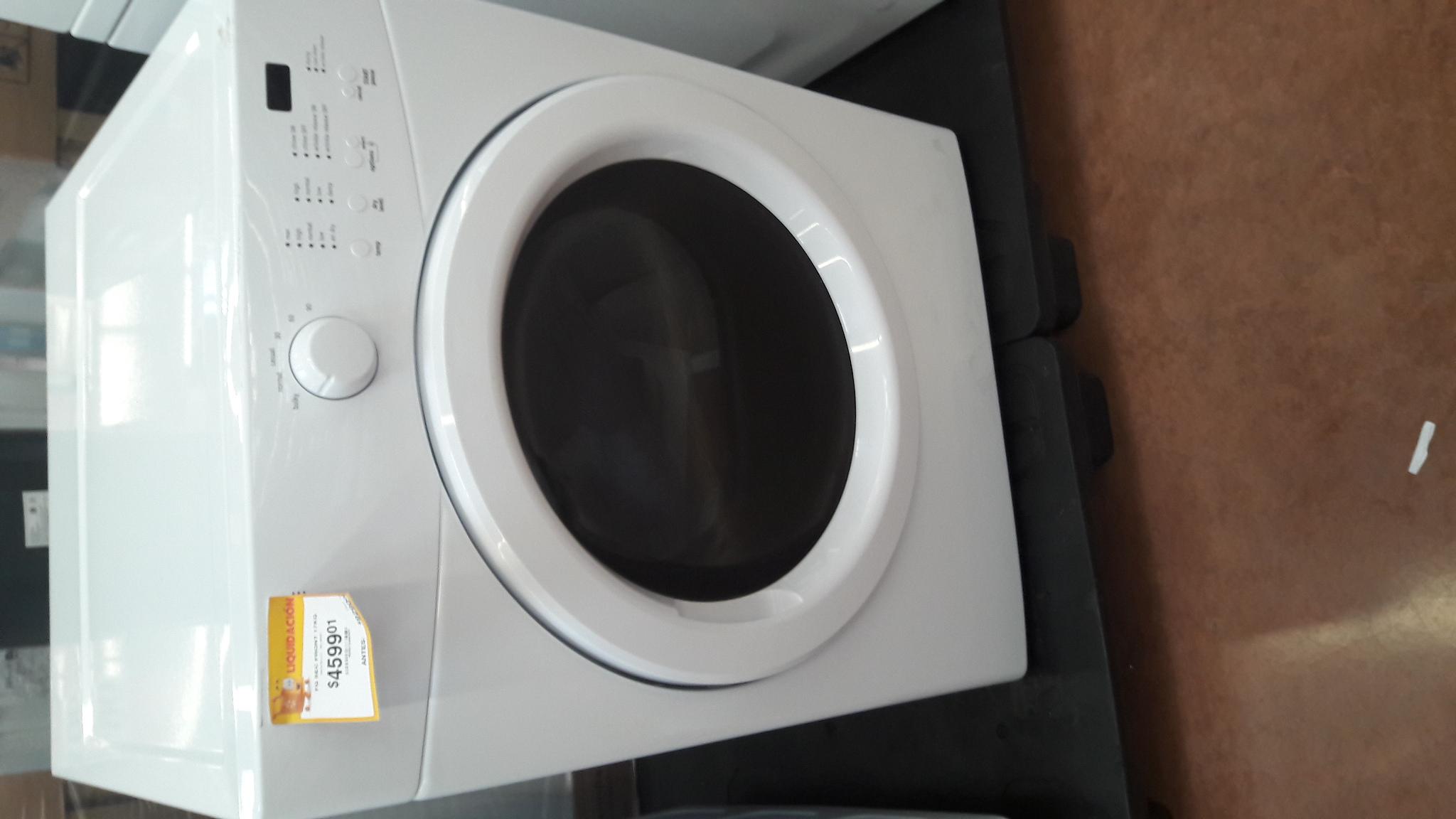 Walmart Francisco Villa leon gto: secadora de gas marca frigidaire de 17 kilos de $9,290 a $4,599.01