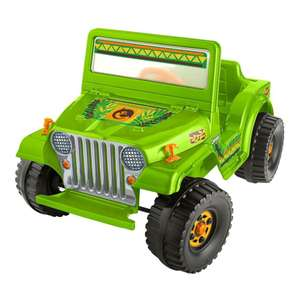 Walmart: Montable Eléctrico Power Wheels Jeep Wrangler 6 Volts