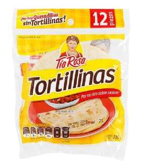 7 Eleven: TORTILLINAS TÍA ROSA 12 PIEZAS A $8.5 (Dcoupon)