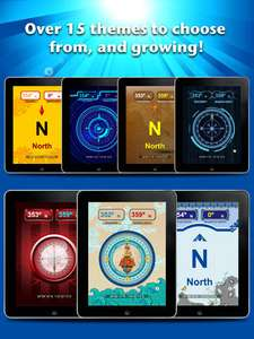 App Store Fondos Brújula Compass Digital Pro de 8 dólares hoy es gratis.
