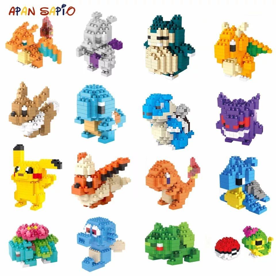 AliExpress: Pokémon Blocks: arma tu Pokémon