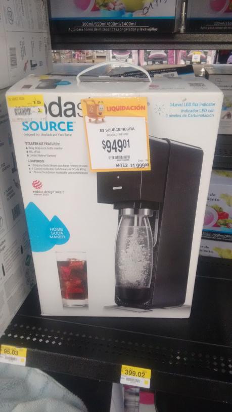 Walmart: Maquina Para Hacer Soda a $949.01