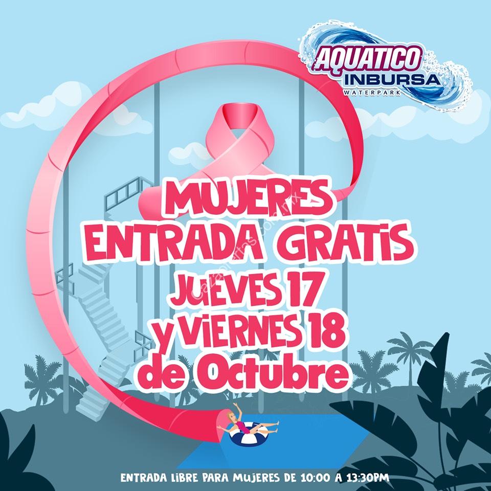 Aquatico Inbursa mujeres gratis