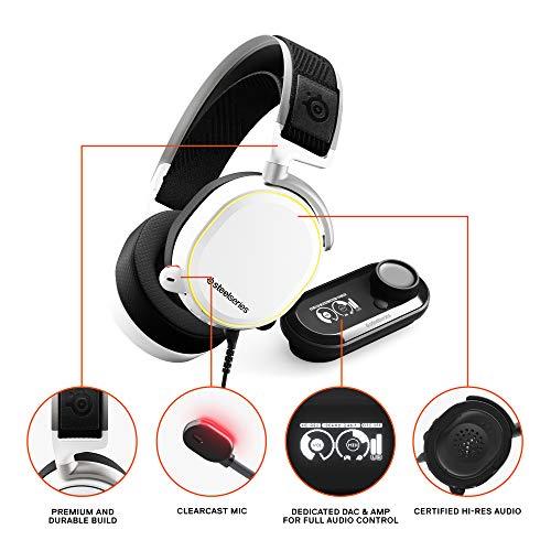 Amazon : SteelSeries Arctis Pro + GameDAC Gaming Headse Hi-Res Audio System