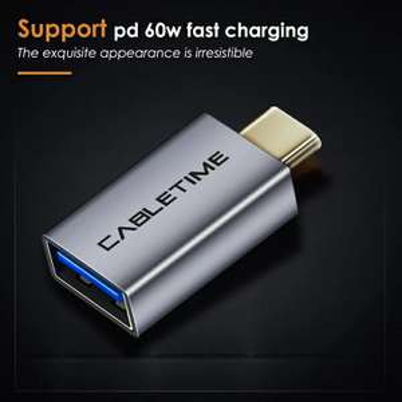 AliExpress: Adaptador USB a Tipo C