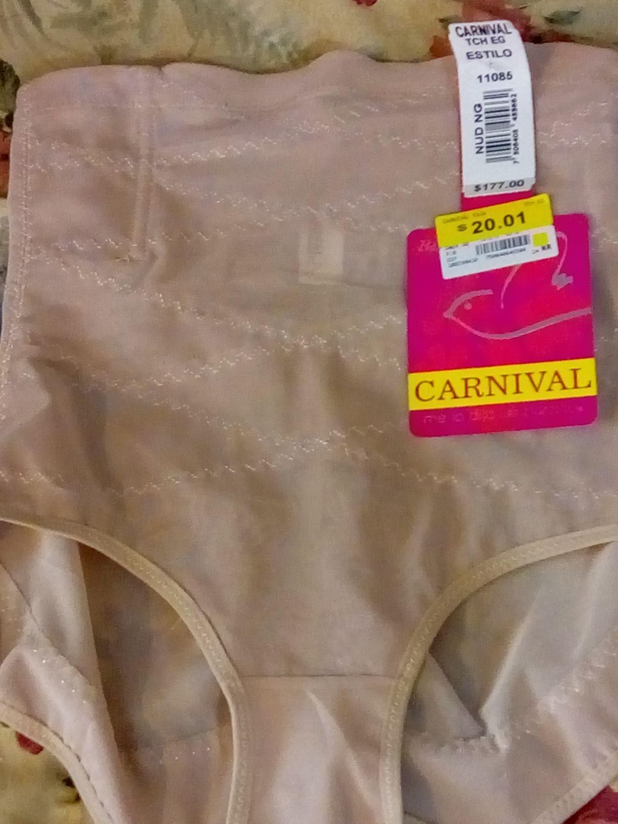 Bodega Aurrerá Los Reyes La Paz: faja Carnival
