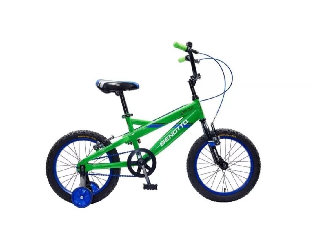 Elektra en línea: Bicicleta Benotto Diavolo R16, - 35%