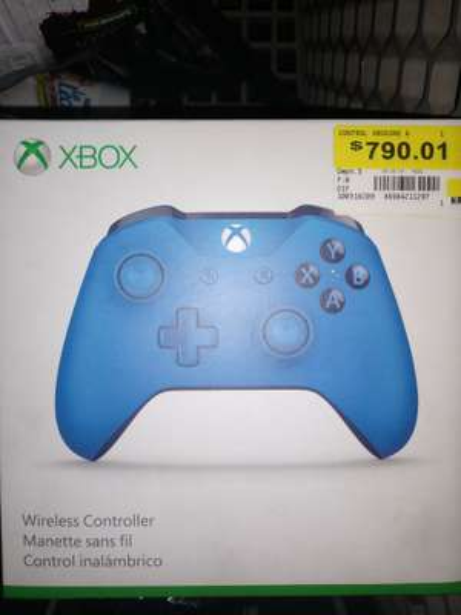 Walmart: Control Xbox one azul