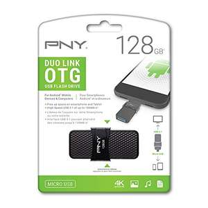 Amazon: PNY Duo-Link OTG Unidad Flash USB 3.0 128 GB