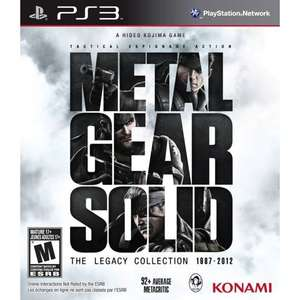 PlayAsia: Metal Gear Solid Complete Collection para PS3 a $19.99 USD