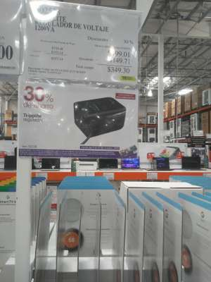 Costco: TRIPPLITE Regulador de Voltaje 1200VA