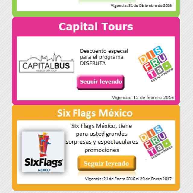VisitMexico: Descuentos en Six Flags, Museo de Cera y otros