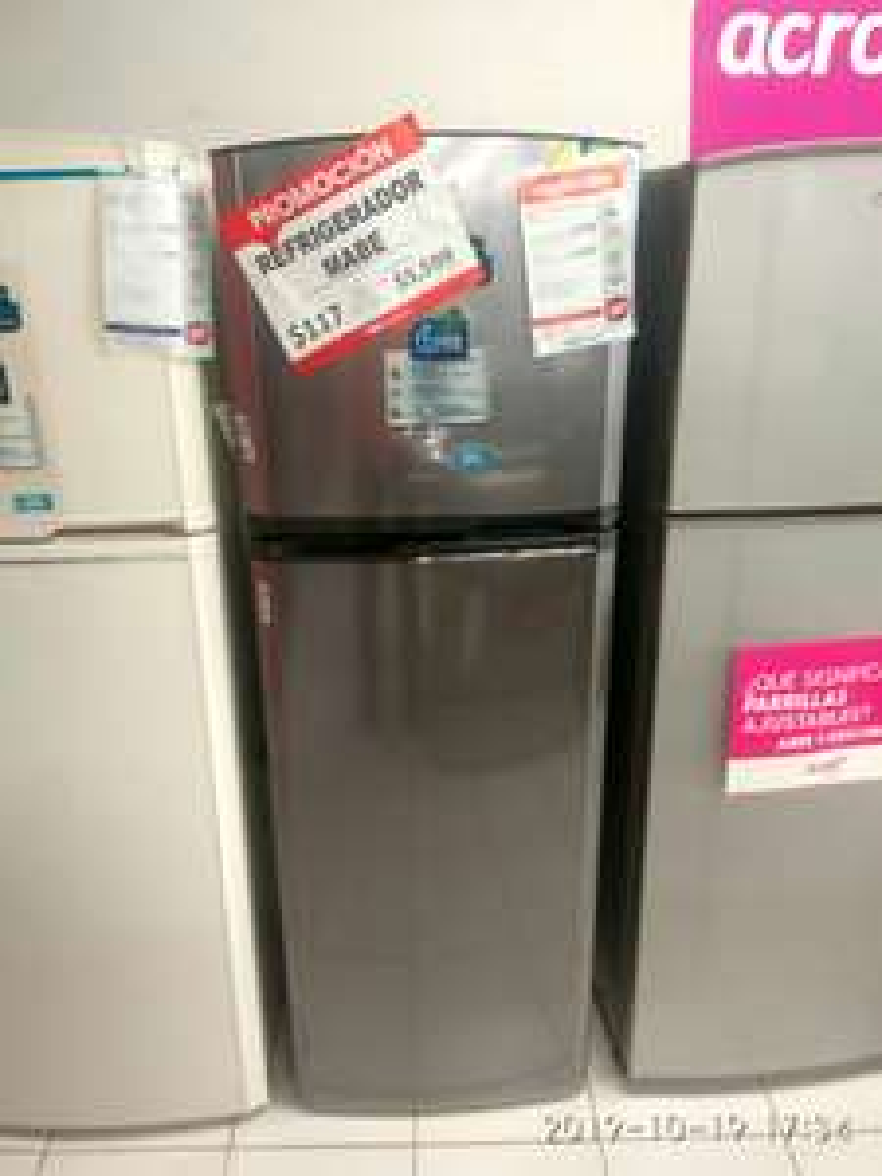 Famsa: Refrigerador Mabe