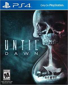 Amazon MX: Until Dawn PlayStation 4 a $495 VISA o $549 otras TC/TD