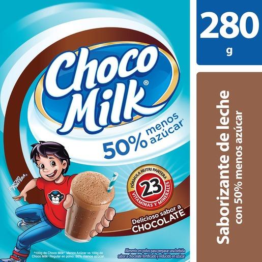 Chedraui: Chocomilk 50% menos azúcar 16.01