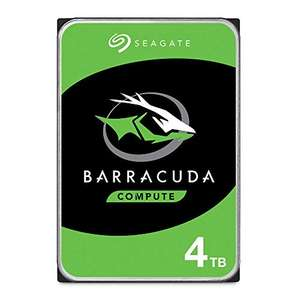 "Amazon: Disco duro 3.5"" Seagate 4TB BarraCuda SATA 6Gb/s 256MB envío gratis"