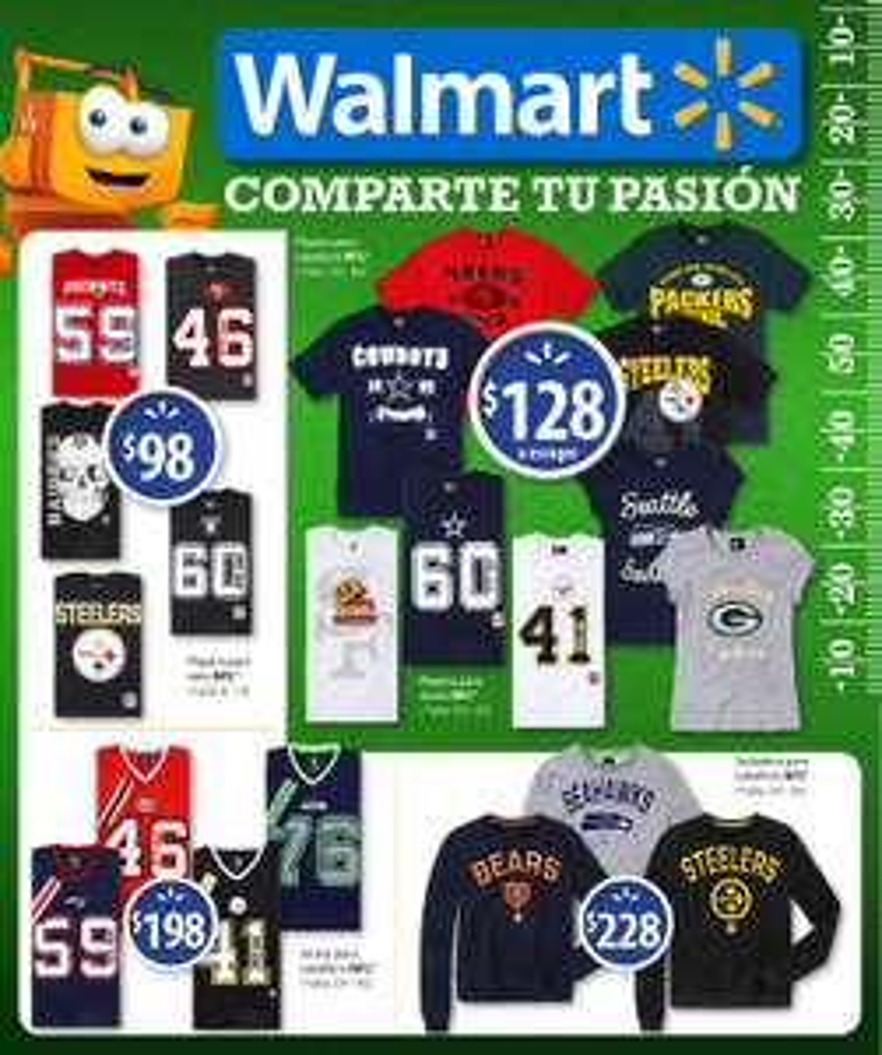Walmart: Folleto Especial Superbowl 14 de Febrero