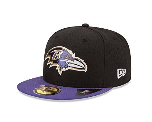 Amazon: Gorra plana New Era 59Fifty 7 1/8(mediana +-) Baltimore Ravens de $658.51 a $197.61