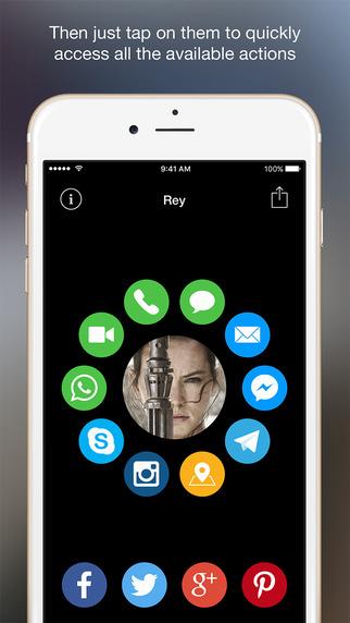 App Store: Contacts Pad a mitad de precio solo esta semana por $17