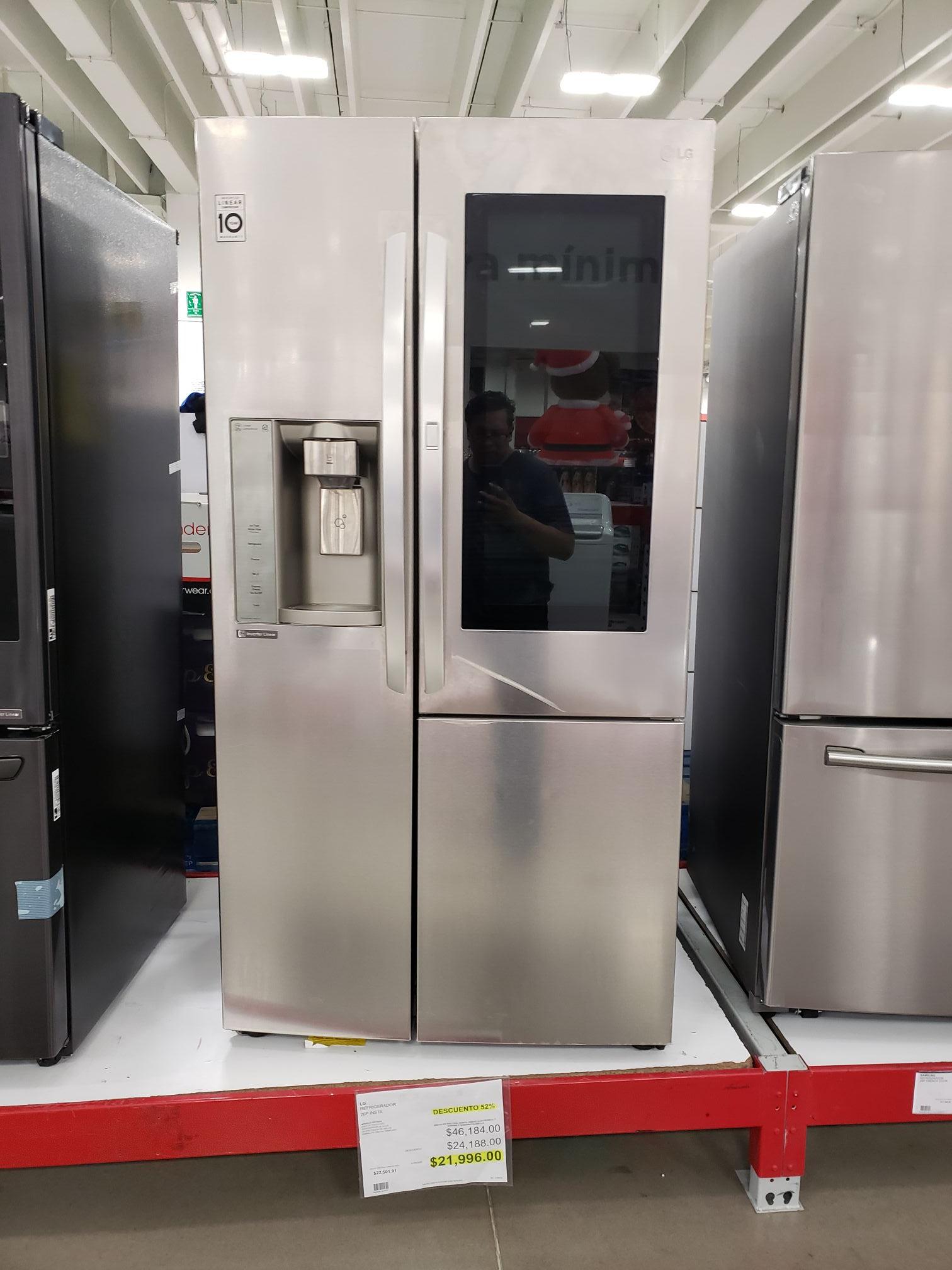 City club: Refrigerador 26p instaview 52% descuento