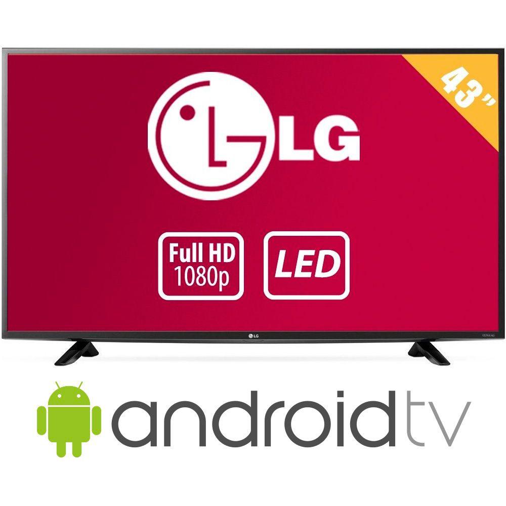 "Walmart: TV LG 43"" Full HD LED mas Android Smart TV"