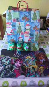 Tapetes individuales monster high. Soriana hipper Silao Gto.