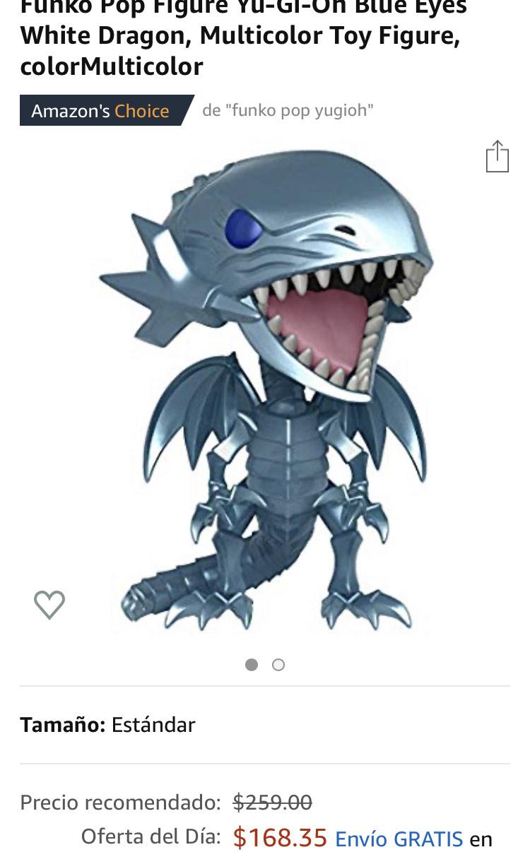 Amazon: Funko Pop Yu-Gi-Oh Blue Eyes White Dragon