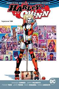 Amazon: Harley Quinn The Rebirth Deluxe Edition 3