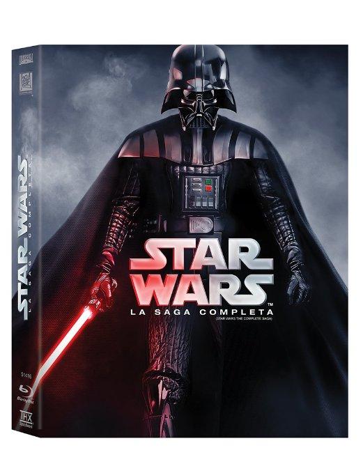 Amazon México: Star Wars. La saga completa en BluRay (portada Darth Vader)