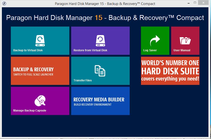 Hard Disk Manager 15 gratis por 2 días valor real 39.95 dólares