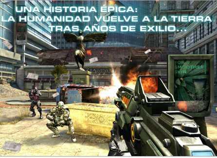 NOVA 3, Gangstar Rio y más juegos para iPhone gratis
