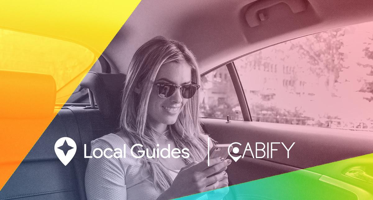 Hasta 5 viajes gratis en Cabify con Google Local Guide