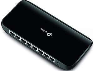 Amazon MX: TP-LINK  Network Switch, 8 puertos, Gigabit.