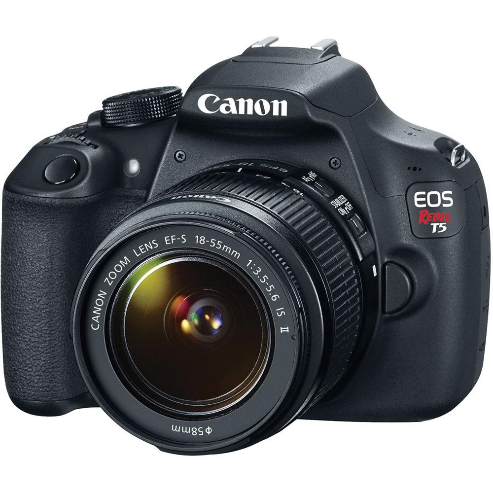 Linio: Cámara Canon EOS Rebel T5 (Lente 18-55mm)