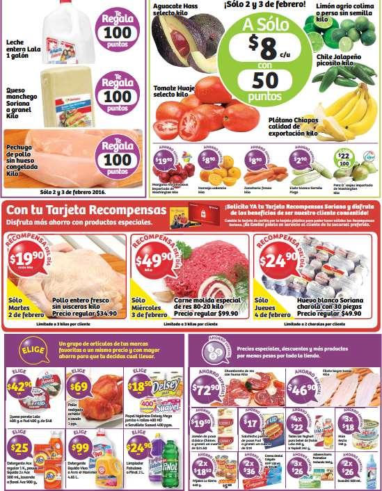 Soriana: ofertas de media semana (incluye 30 huevos a $25)