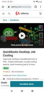 Udemy: curso quickbooks