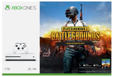 Elektra: Consola Xbox One S 1TB + Playerunknown's Battlegrounds (pagando con BBVA ó Banorte)