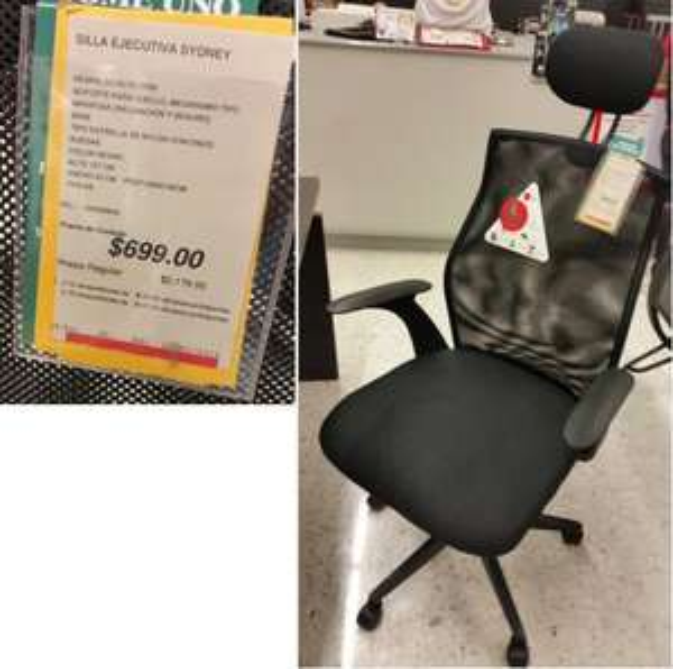 Office Depot: Silla Ejecutiva Sydney a $699