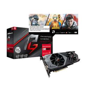 Dimercom TARJETA DE VIDEO ASROCK PHANTOM GAMING X RADEON RX590 8G