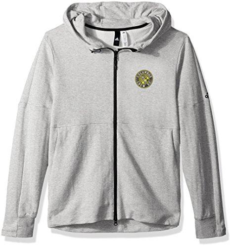 Amazon: Adidas MLS - Chamarra con Cierre Completa (Talla M)