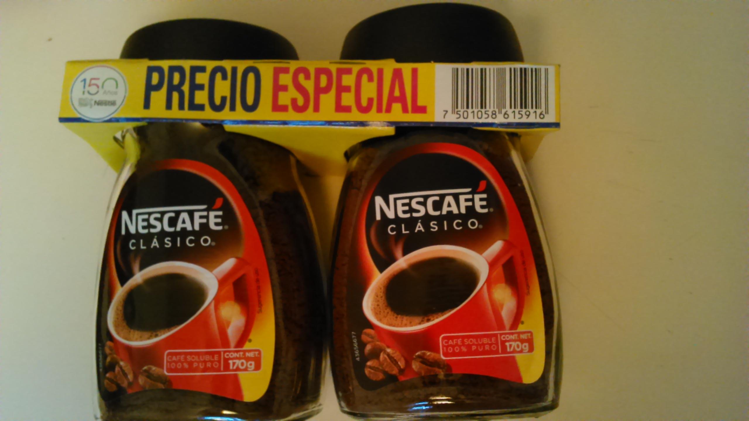 Bodega Aurrerá Santa Margarita Zapopan: 2 nescafe 170 grs $99